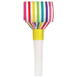 Rainbow Paper Party Blowers