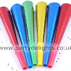 Prismatic Party Blowers