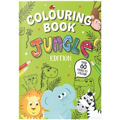 Jungle Colouring Book