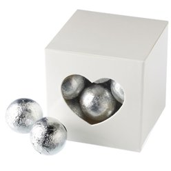 White Cube Favour Boxes - 5cm