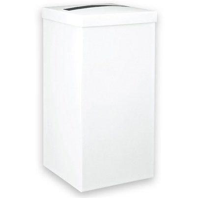 White Silk Wedding Post Box