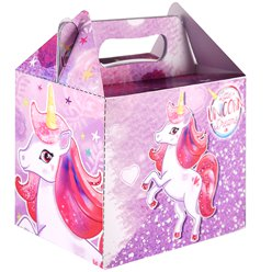 Unicorn Party Box - 14cm long