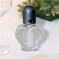 Heart Wedding Bubbles - Silver