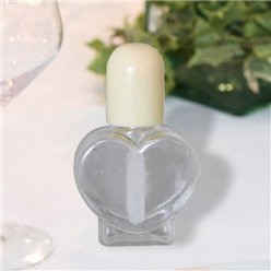 Heart Wedding Bubbles - Ivory