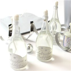 Champagne Wedding Bubbles - White