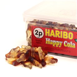 Haribo Happy Cola Tub