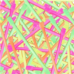 Sherbet Filled Straws - 100pk