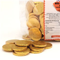 Chocolate Pirate Coins - 1kg