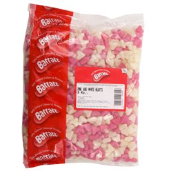Pink & White Hearts - 3kg