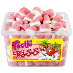 Trolli Strawberry Kisses Tub