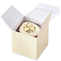 Ivory Cupcake Boxes
