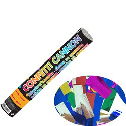 Multi Coloured Foil Confetti Cannon -30cm