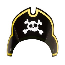 Captain Pirate Party Hats