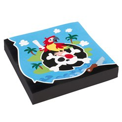 Captain Pirate Napkins - 33cm