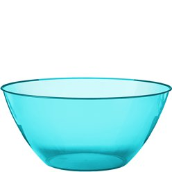 Turquoise Plastic Serving Bowl - 4.7L