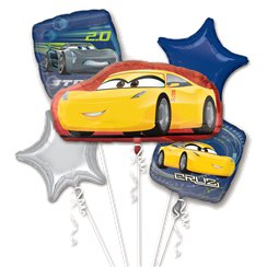 Cars Cruz/Jackson Bouquet Balloons