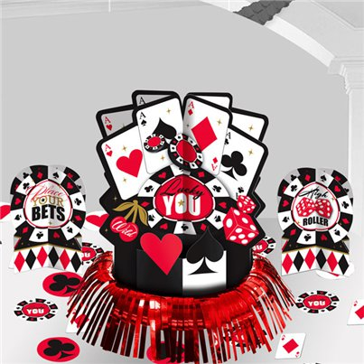 Casino Table Decorating Kit