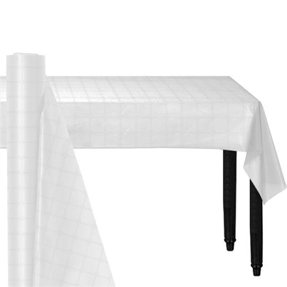 White Paper Banqueting Roll - 8m