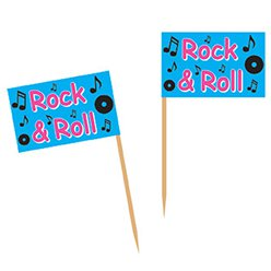 Rock and Roll Flag Picks
