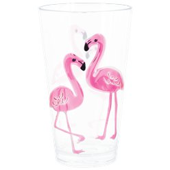 Flamingo Highball Plastic Glass - 680ml