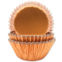 Rose Gold Foil Cupcake Cases - 5cm