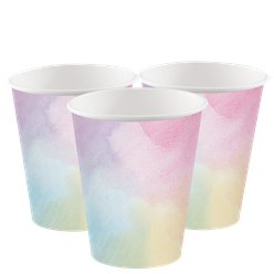 Pastel PowderPaper Cups - 256ml