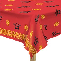 Chinese New Year Plastic Tablecover - 1.37m x 2.74m