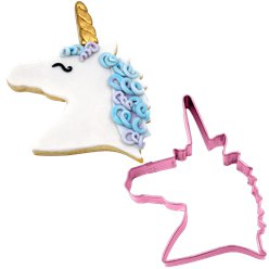 Unicorn Head Cookie Cutter