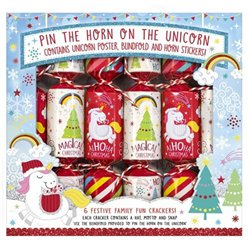 Pin The Horn On The Unicorn Crackers - 23cm
