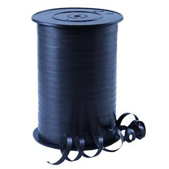 Black Curling Balloon Ribbon - 500m