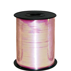 Iridescent Pink Curling Balloon Ribbon - 230m