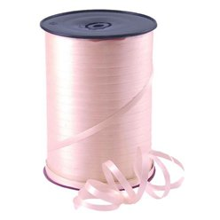Pink Curling Balloon Ribbon - 500m