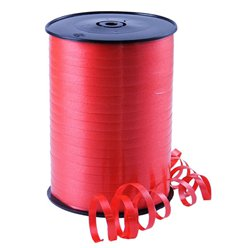 Red Curling Balloon Ribbon - 500m
