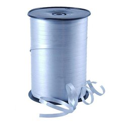 Silver Curling Balloon Ribbon - 500m