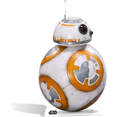 Star Wars BB-8 Mini Cardboard Cutout - 94cm