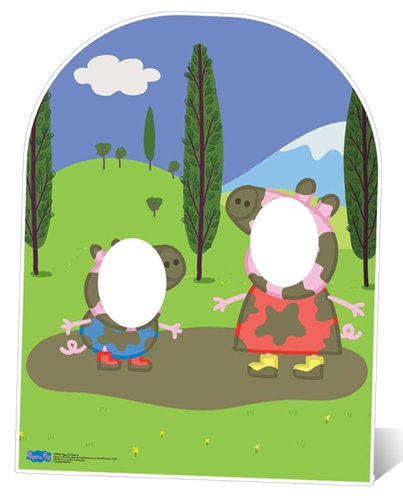 Peppa Pig Stand In Photo Prop - 1.24m