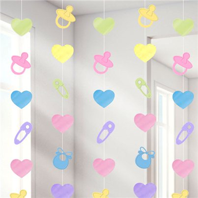 Baby Shower String Decoration - 2.1m