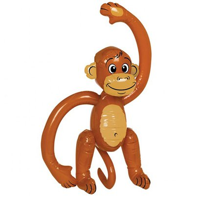Inflatable Monkey - 50cm