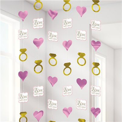 Engagement Wedding String Decorations - 2m