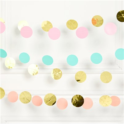 Pastel Hanging String Decorations