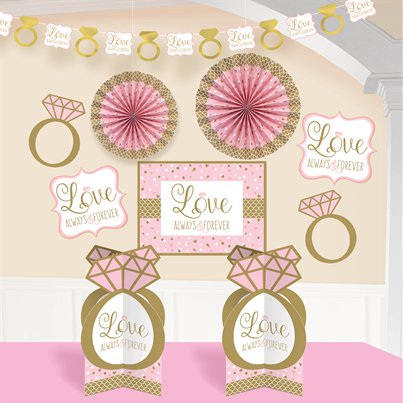 Sparkling Wedding Room Decoration Kit