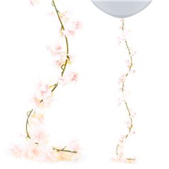 Pink Blossom Floral Garland - 2.1m