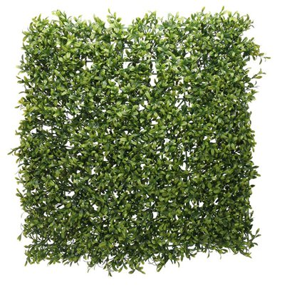 Green Faux Plant Wall - 50 x 50cm