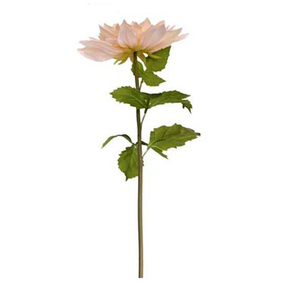 Giant Peach Artificial Flower Decoration - 106cm