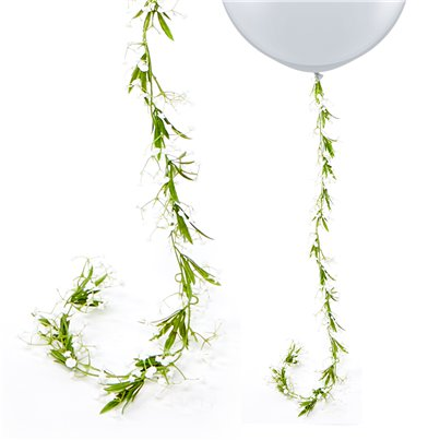 White Gypsophila Flower Garland - 1.8m