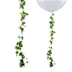 White Rose Wedding Flower Garland - 1.8m
