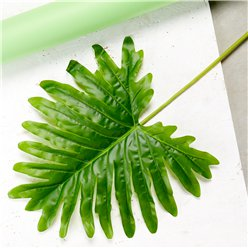 Giant Green Fern Palm Leaf Decoration - 102cm
