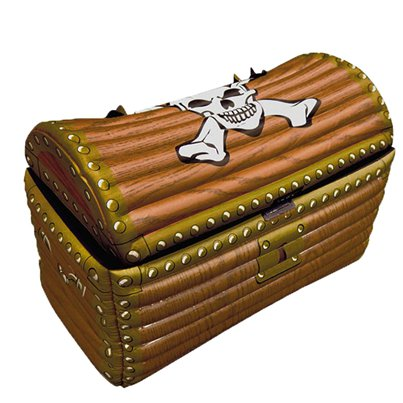 Inflatable Treasure Chest Cooler - 64cm