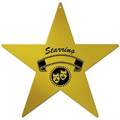 Hollywood Foil Awards Night Star - 12""