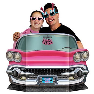 Pink Convertible Photo Prop - 64cm